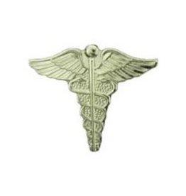 """MidMil Army Medic Caduceus Pin 3/4"""""""