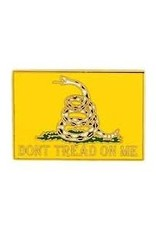"""MidMil Don't Tread on Me Pin 1"""""""