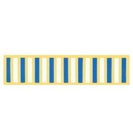 "MidMil Korea UN Service Medal Ribbon Pin 11/16"""