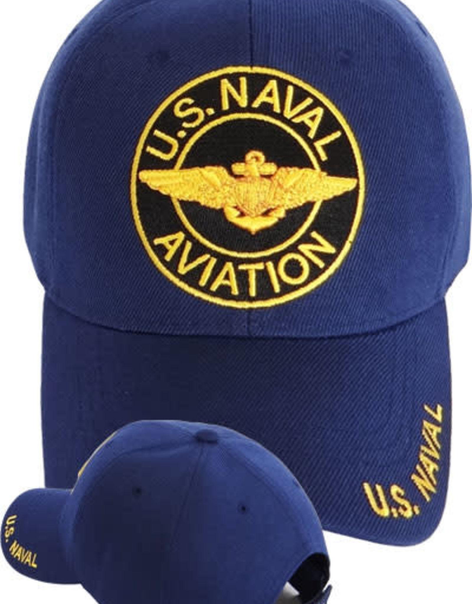 MidMil Naval Aviation Hat with Circle Dark Blue
