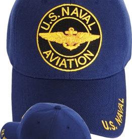 Naval Aviation Hat with Circle Dark Blue