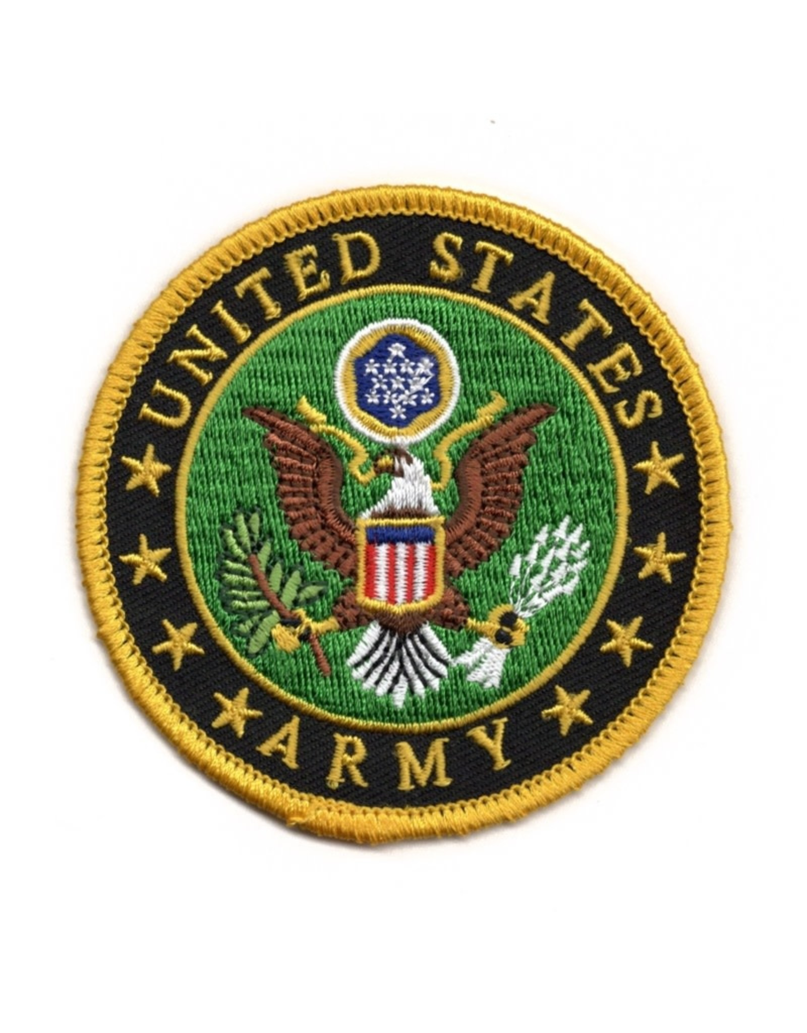 """MidMil Embroidered Army Seal Patch 3"""""""