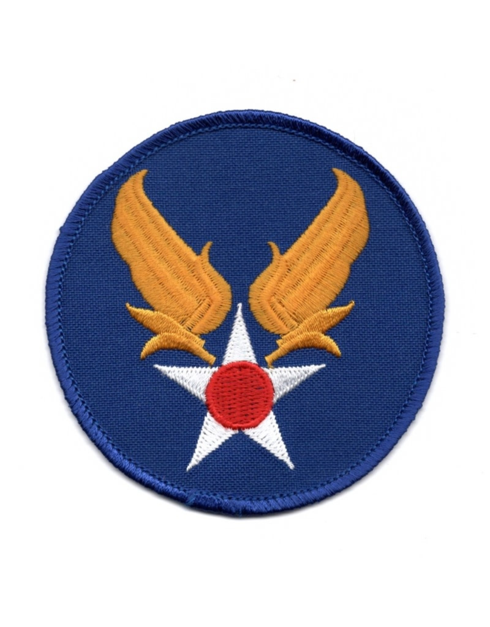 """MidMil Embroidered Army Air Corps Patch 3"""" Blue"""