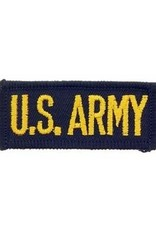 """MidMil Embroidered U.S. Army Patch 2.5"""" wide x 1"""" high"""