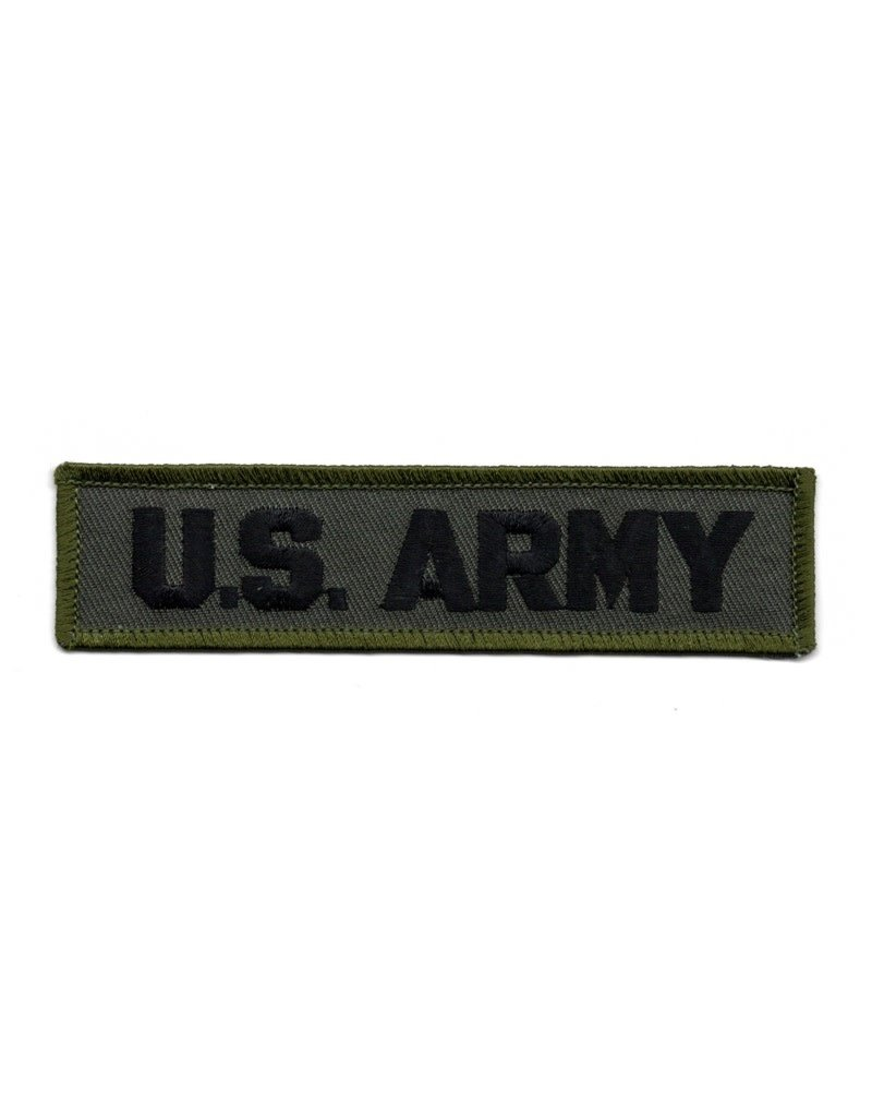 MidMil Embroidered Subdued U  S  Army Patch 4 6