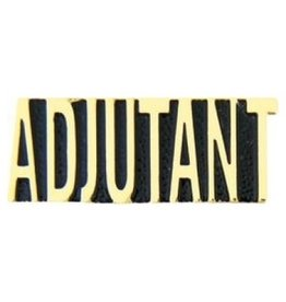 MidMil Adjutant Text Pin 1 1/4""