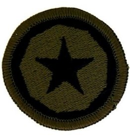 "MidMil Embroidered Subdued Army 9th Logistical Command Patch 2"" Olive Drab"