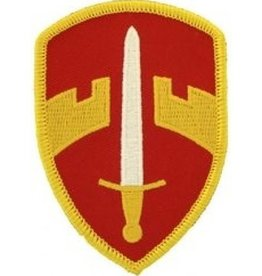 "MidMil Embroidered Army Military Assistance Command, Vietnam Emblem Patch 2.2"" wide x 3.1"" high"