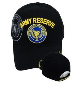 MidMil Army Reserve Hat with Reserve Seal and Shadow Black
