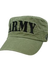 MidMil ARMY Flat Top Hat Olive Drab