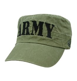 MidMil ARMY Flat Top Hat Olive Drab
