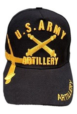 MidMil Army Artillery Hat with Shadow Over Black