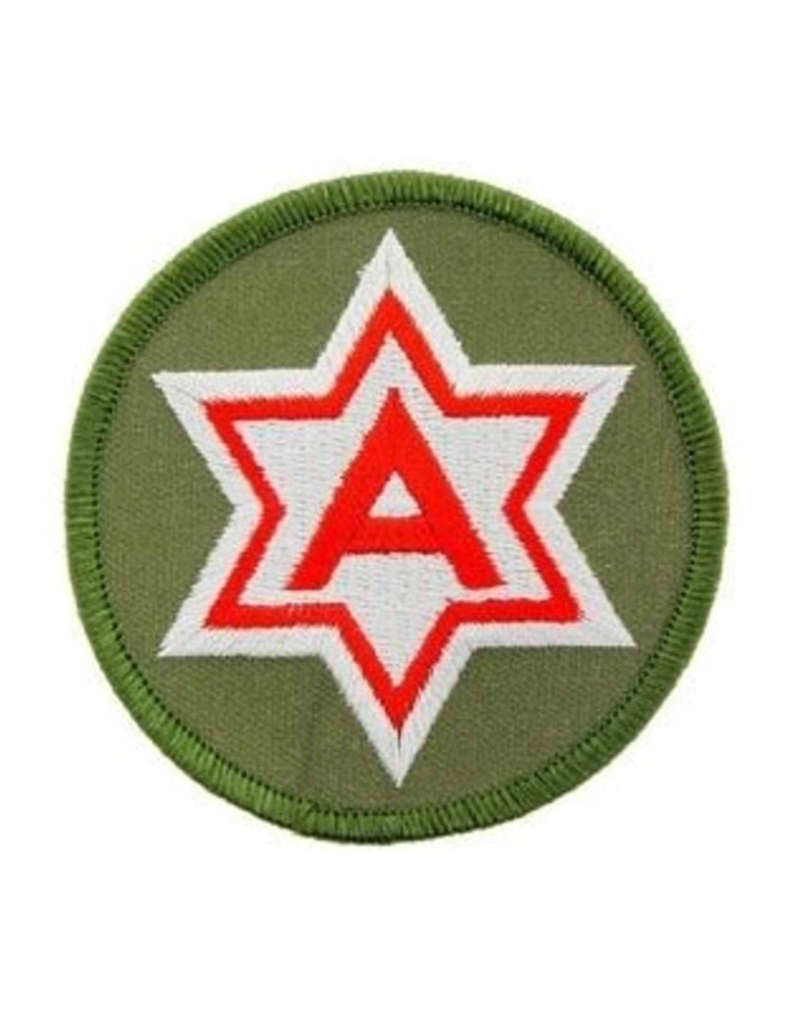 MidMil Embroidered 6th Army Patch Color 3""