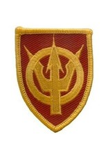 "MidMil Embroidered Army 4th Transport Command Patch 2"" wide x 2.8"" high"