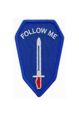 """MidMil Embroidered Army Infantry School """"Follow Me"""" Patch 2"""" wide x 3.3"""" high"""