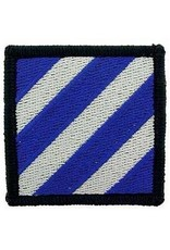 "MidMil Embroidered Army 3rd Infantry Division Patch 2.2"" wide x 2.2"" high"
