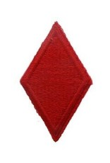 """MidMil Embroidered Army  5th Infantry Division Emblem Patch 1.7"""" wide x 2.8"""" high"""
