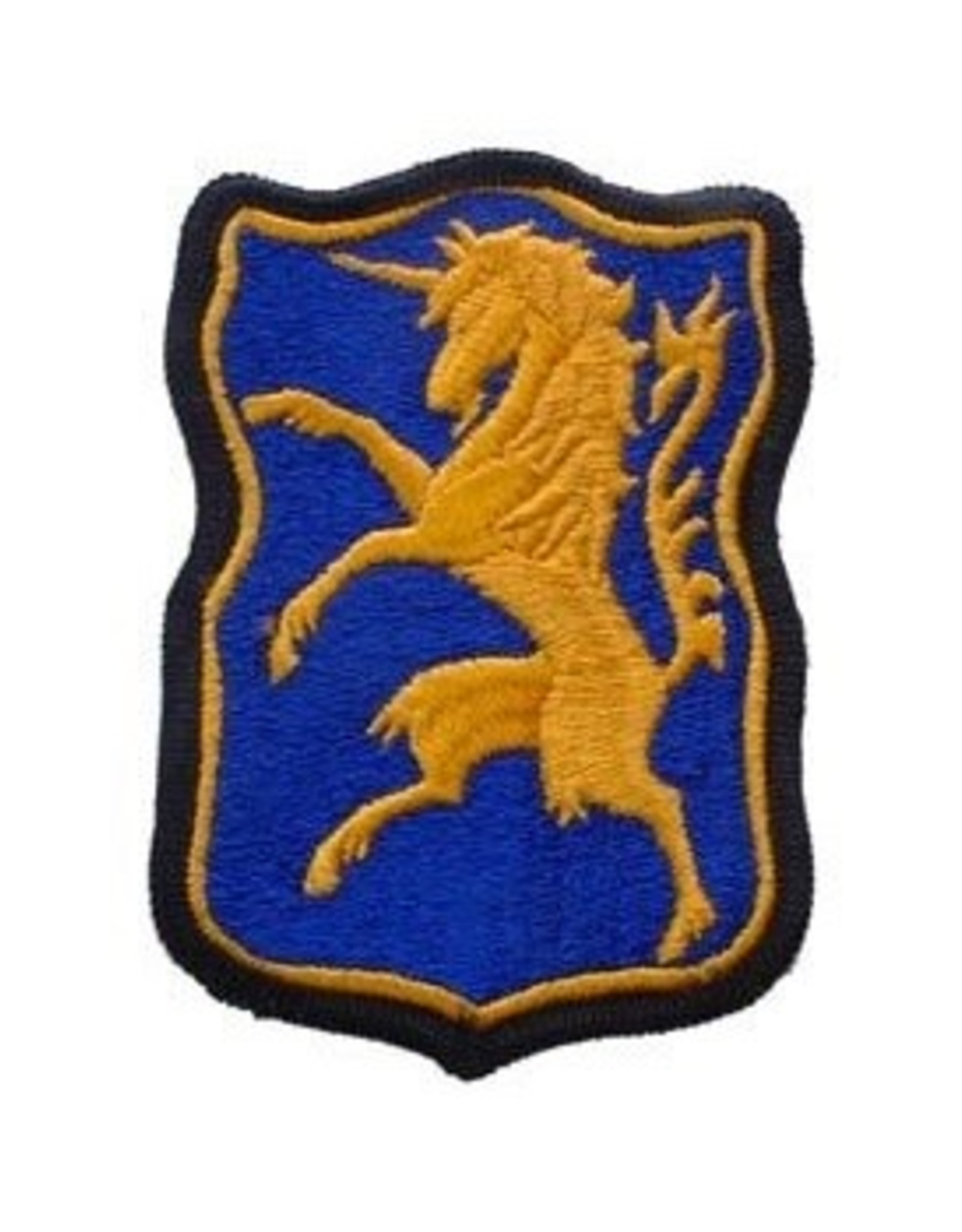 """MidMil Embroidered Army 6th Armored Cavalry Emblem Patch 2.4"""" wide x 3.2"""" high"""