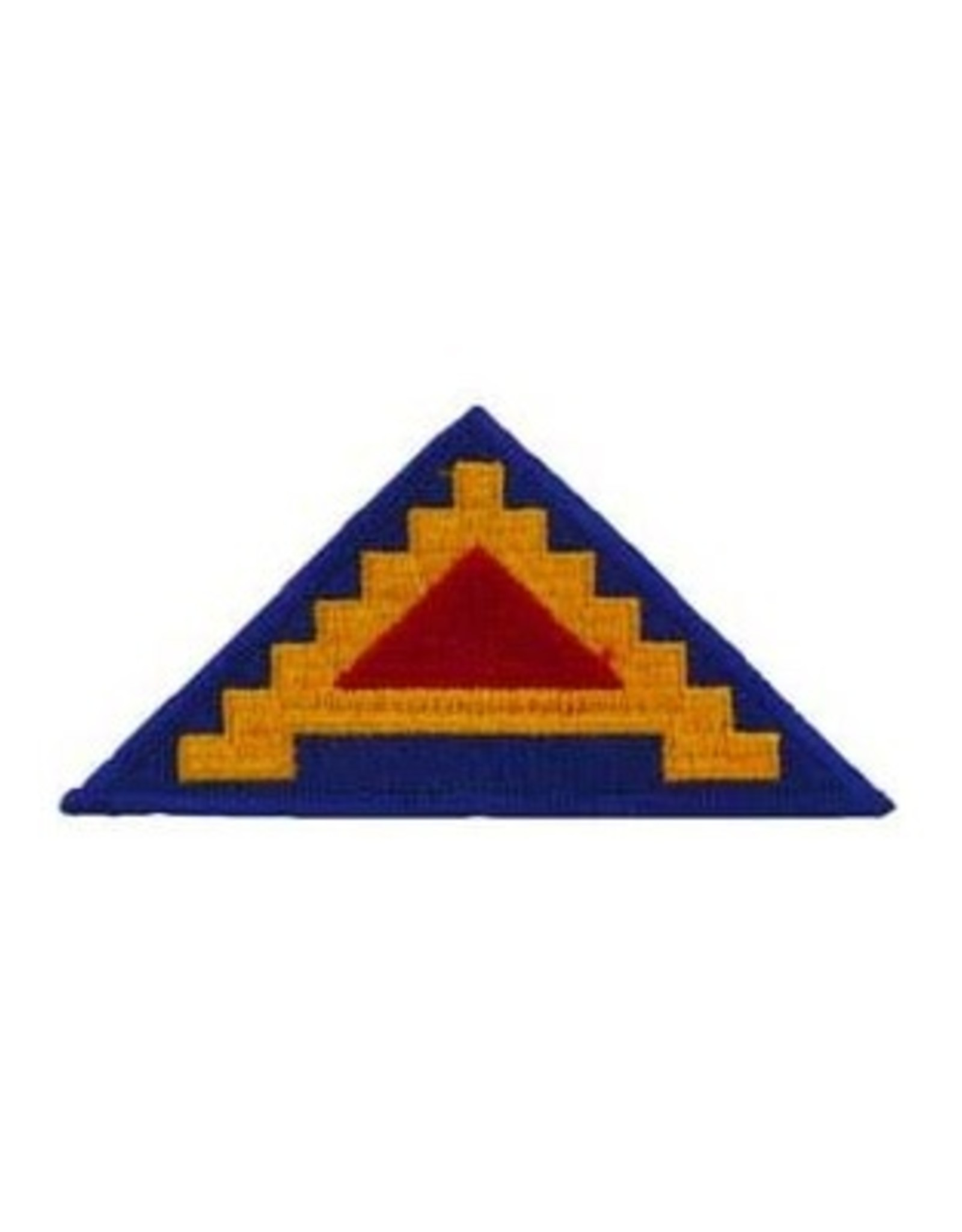 """MidMil Embroidered 7th Army Emblem Patch 4.4"""" wide x 2.3"""" high"""