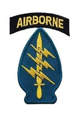 """MidMil Embroidered Army Special Forces Group Airborne Emblem Patch 2.1"""" wide x 3.2"""" high"""