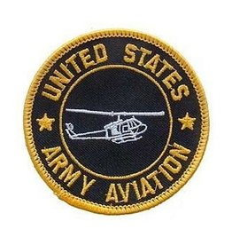 """MidMil Embroidered Army Aviation Patch 3"""""""