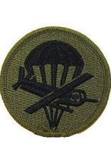 """MidMil Embroidered Subdued Army Paraglider Officer Patch  3"""" Olive Drab"""