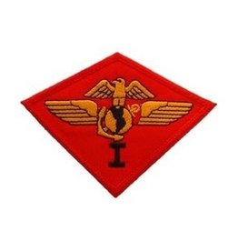"MidMil Embroidered 1st Marine Aircraft Wing Patch 3.8"" wide x 2.8"" high"