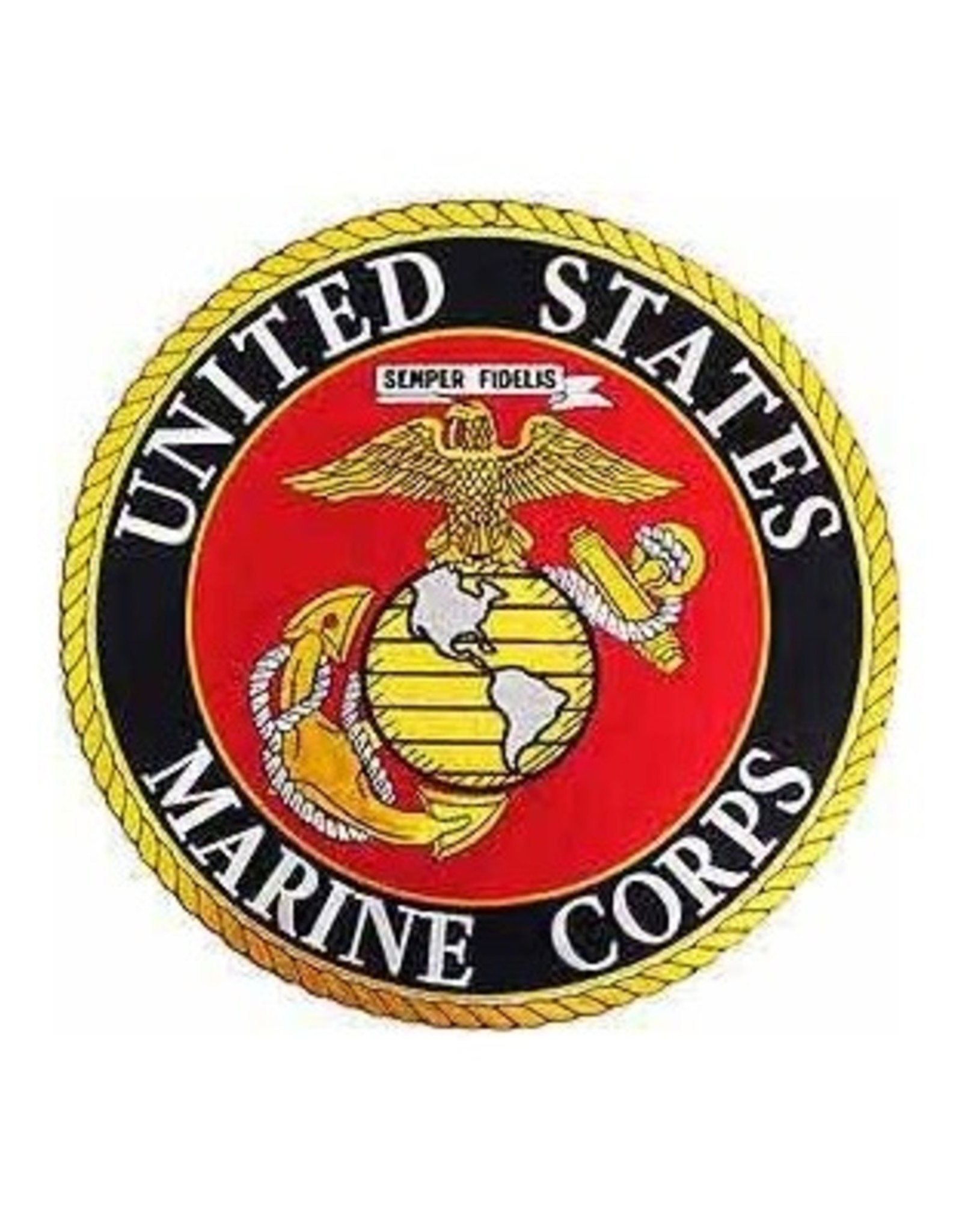 MidMil Embroidered Marine Corps Seal Patch 10""