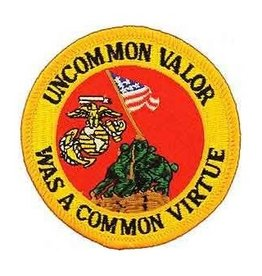 "MidMil Embroidered Marine Corps Iwo Jima Patch 3"""