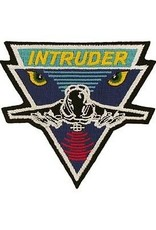 "MidMil Embroidered Navy A-6 Intruder Patch 3.5"" wide x 3.2"" high"