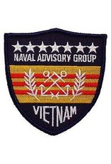 "MidMil Embroidered Naval Advisory Group Vietnam Patch 3.7"" wide x 4.2"" high"