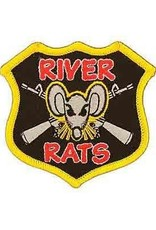 "MidMil Embroidered Vietnam Navy River Rats Patch 3"" wide x 3"" high"