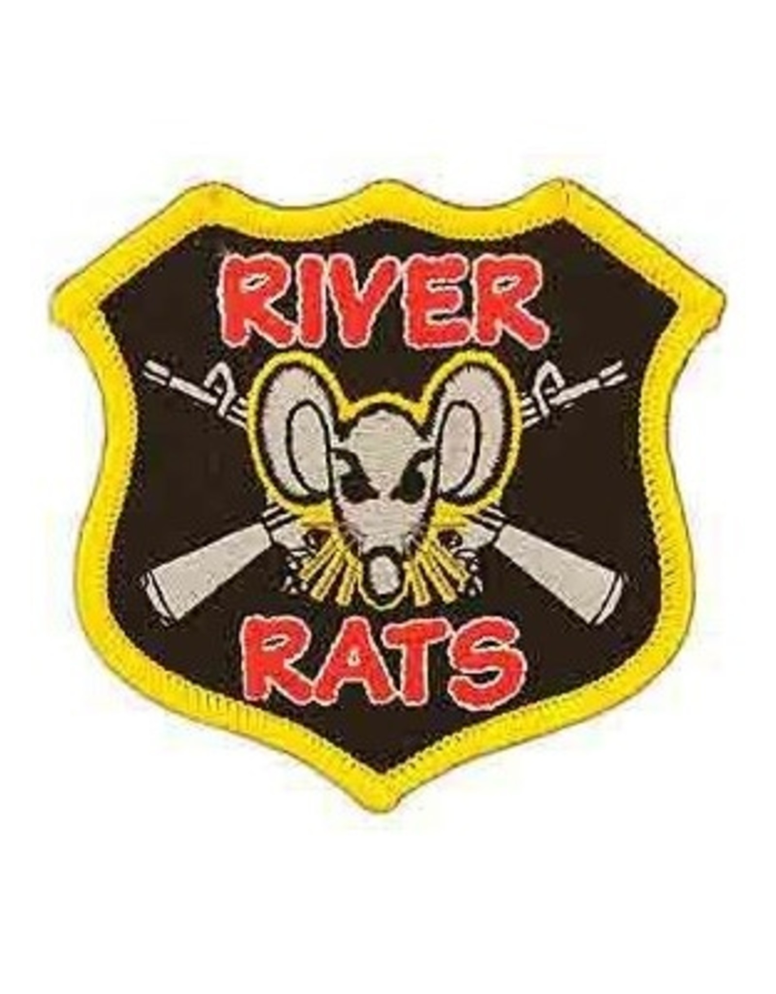 """MidMil Embroidered Vietnam Navy River Rats Patch 3"""" wide x 3"""" high"""