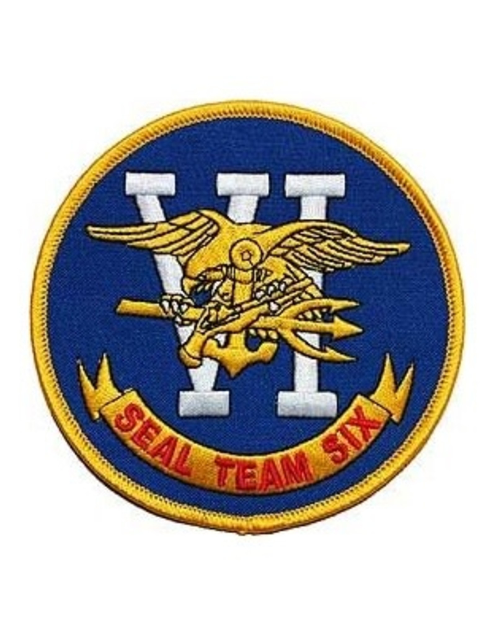 MidMil Embroidered Seal Team VI Six Patch 3""