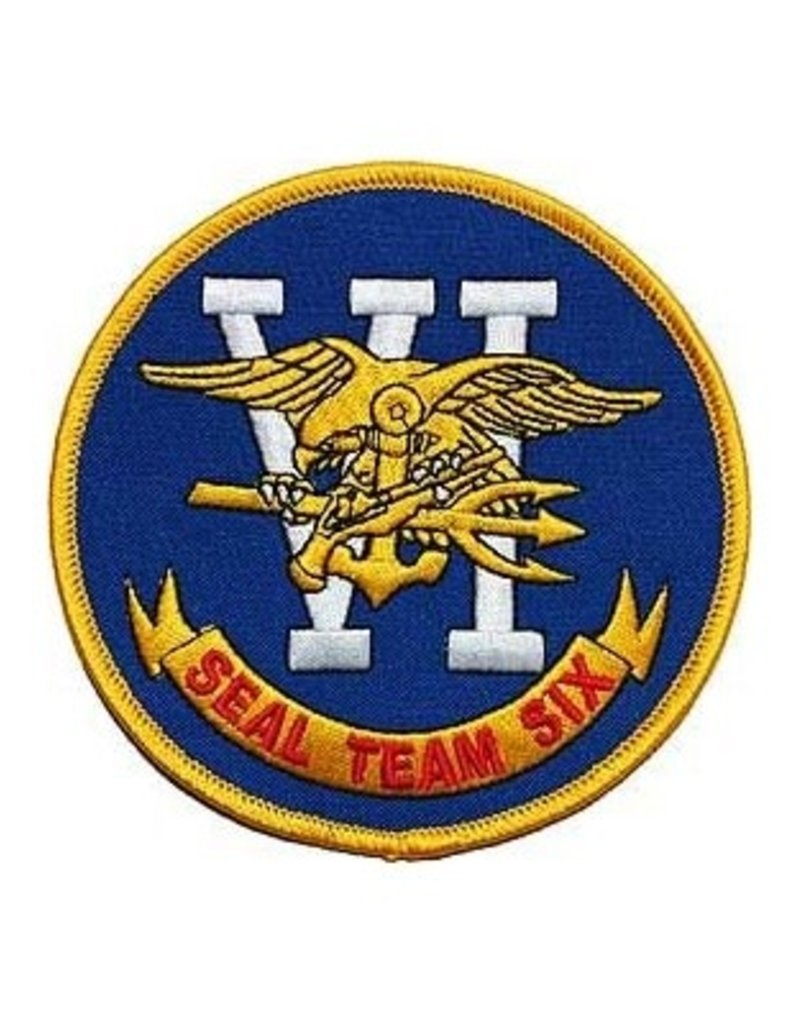 """MidMil Embroidered Seal Team VI Six Patch 3"""""""