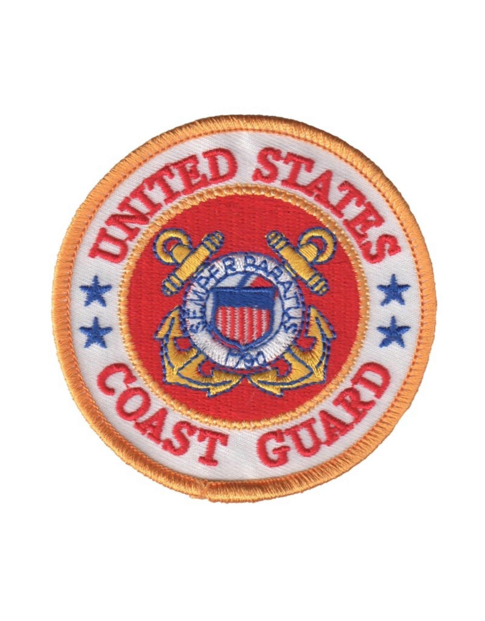 MidMil Embroidered Coast Guard Patch with Emblem 3""