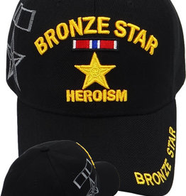 MidMil Bronze Star Medal Hat with Shadow Black
