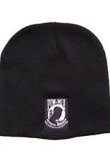 MidMil POW*MIA Black Knit Beanie Watch Cap Hat Black