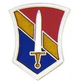 MidMil 1st Field Force Emblem Pin 1""