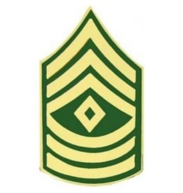 """MidMil Army 1st Sergeant (E-8) Pin 1 1/4"""""""