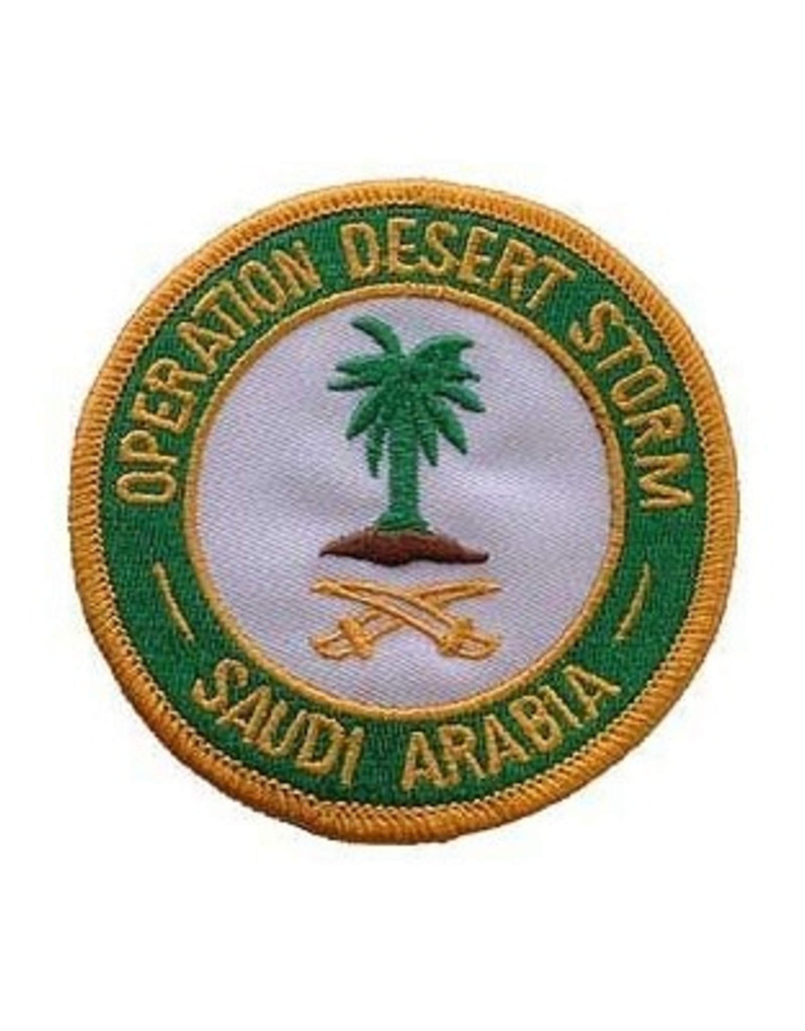 MidMil Embroidered Operation Desert Storm - Saudi Arabia Patch 3""