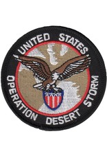 MidMil Embroidered Operation Desert Storm Patch with Eagle on Shield 3""