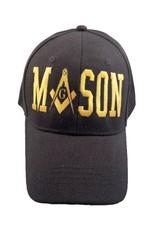 MidMil Mason Emblem M 'A' SON Hat Black