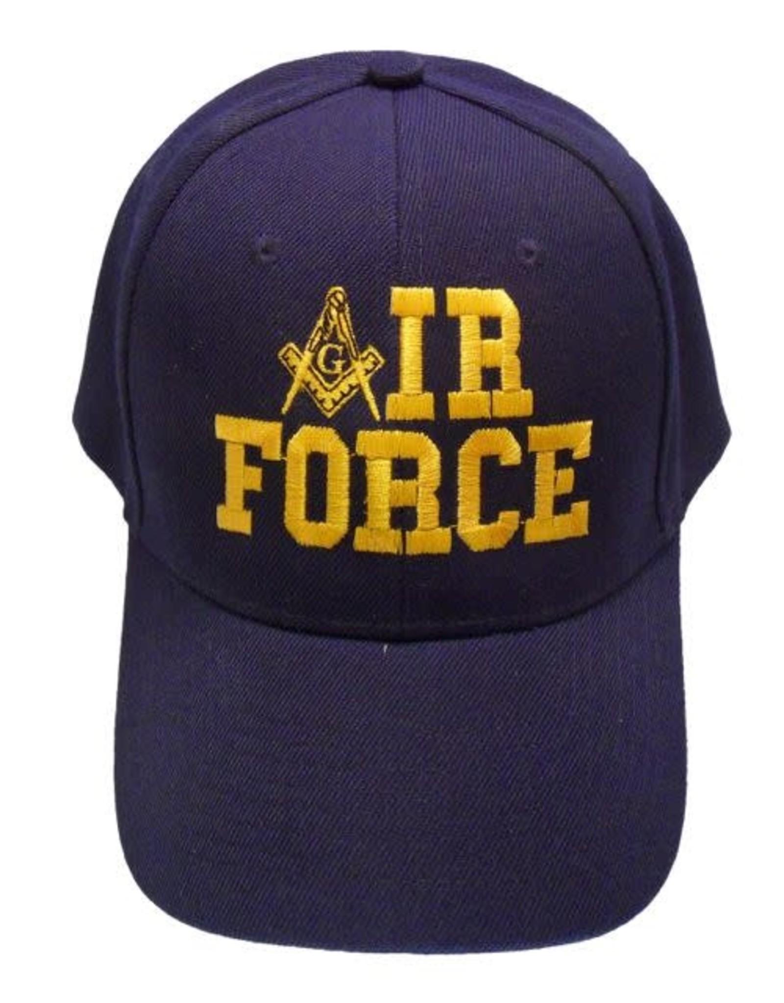 MidMil Mason Emblem 'A' IR FORCE Hat Dark Blue