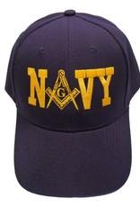 MidMil Mason Emblem N 'A' VY Hat Dark Blue