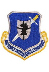 """MidMil Embroidered Air Force Intelligence Command Emblem Patch 3"""" wide x 3.2"""" high"""