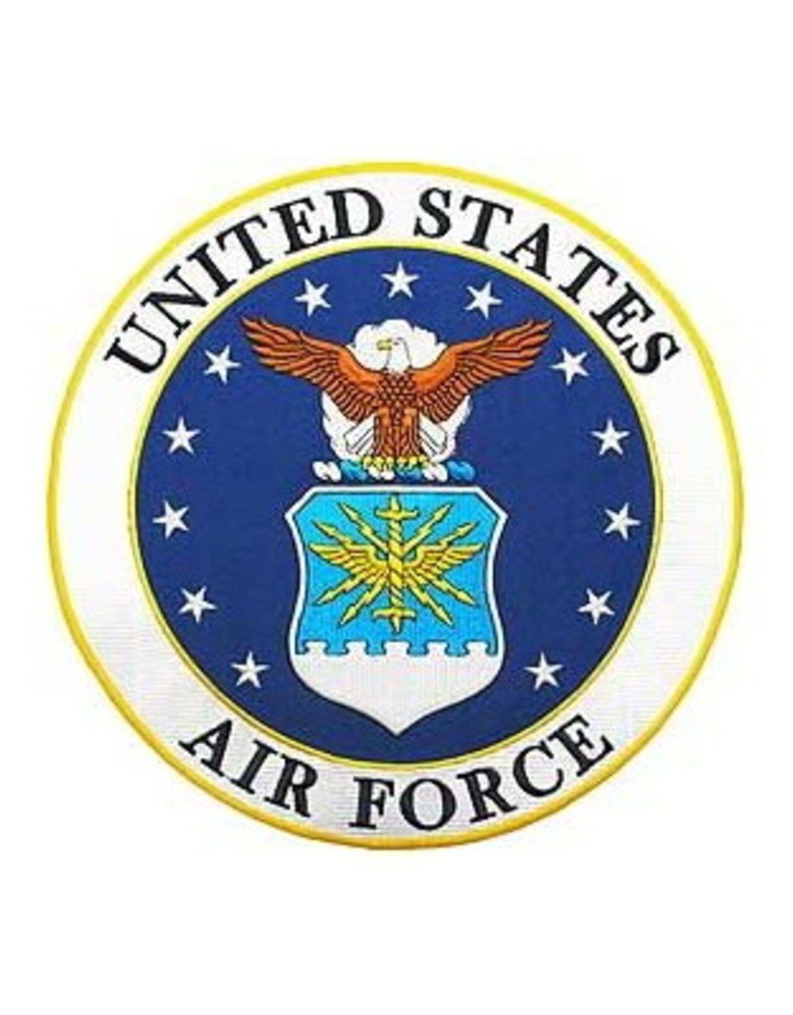 """MidMil Embroidered Air Force Seal Patch 10"""""""