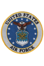 MidMil Embroidered Air Force Seal Patch 5""
