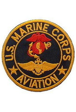 MidMil Embroidered U. S. Marine Corps Aviation Patch 3""