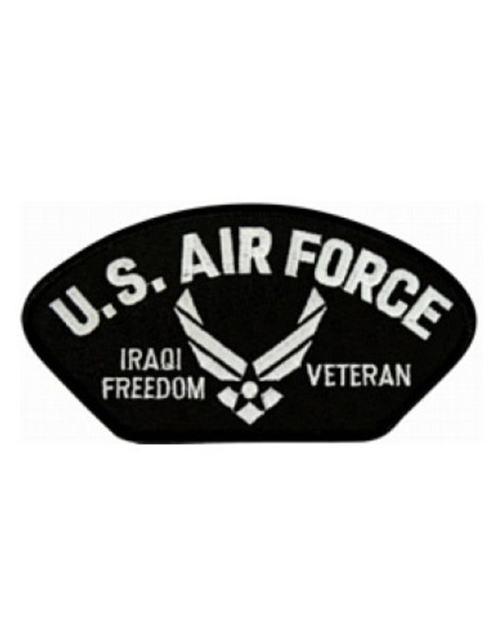"MidMil Embroidered U.S. Air Force Iraqi Freedom Veteran Patch with Wings Emblem 5.2"" wide x 2.7"" high"